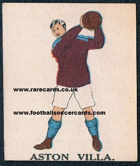 1923 Aston Villa Battock's 1st series